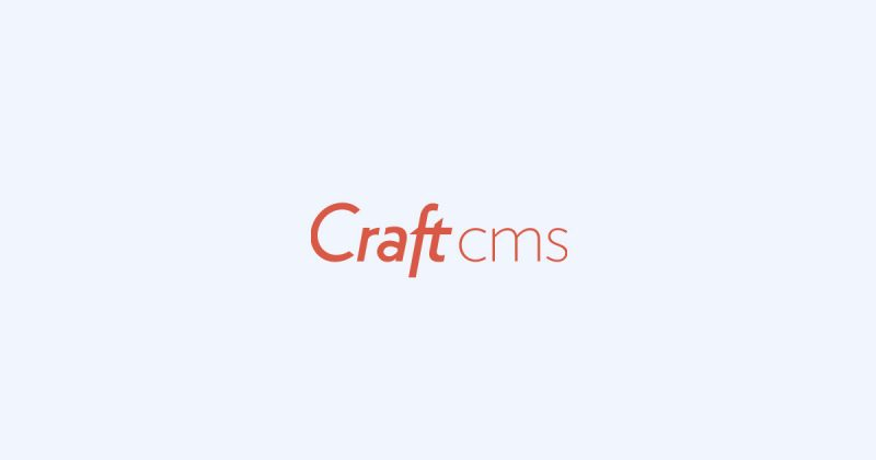 Craft Cms Best Content Management System Image